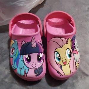 My little pony crocs